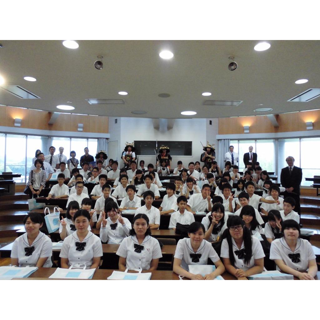 愛知啓成高等学校との高大連携事業「大学体験」を実施| 愛知文教大学.